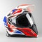Airoh Comander Africa Twin Adventure Helmet - Red-Blue