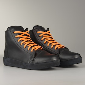 Course MX Sneakers  Black with Neon Orange Laces