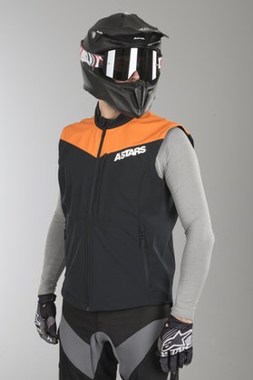 Alpinestars Session Race Enduro Vest Black-FlouOrange