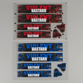 OneDesign Violent Bastard Stickers 230x155mm