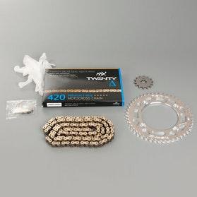 MX Twenty Delta 420 Chain and Sprocket Kit