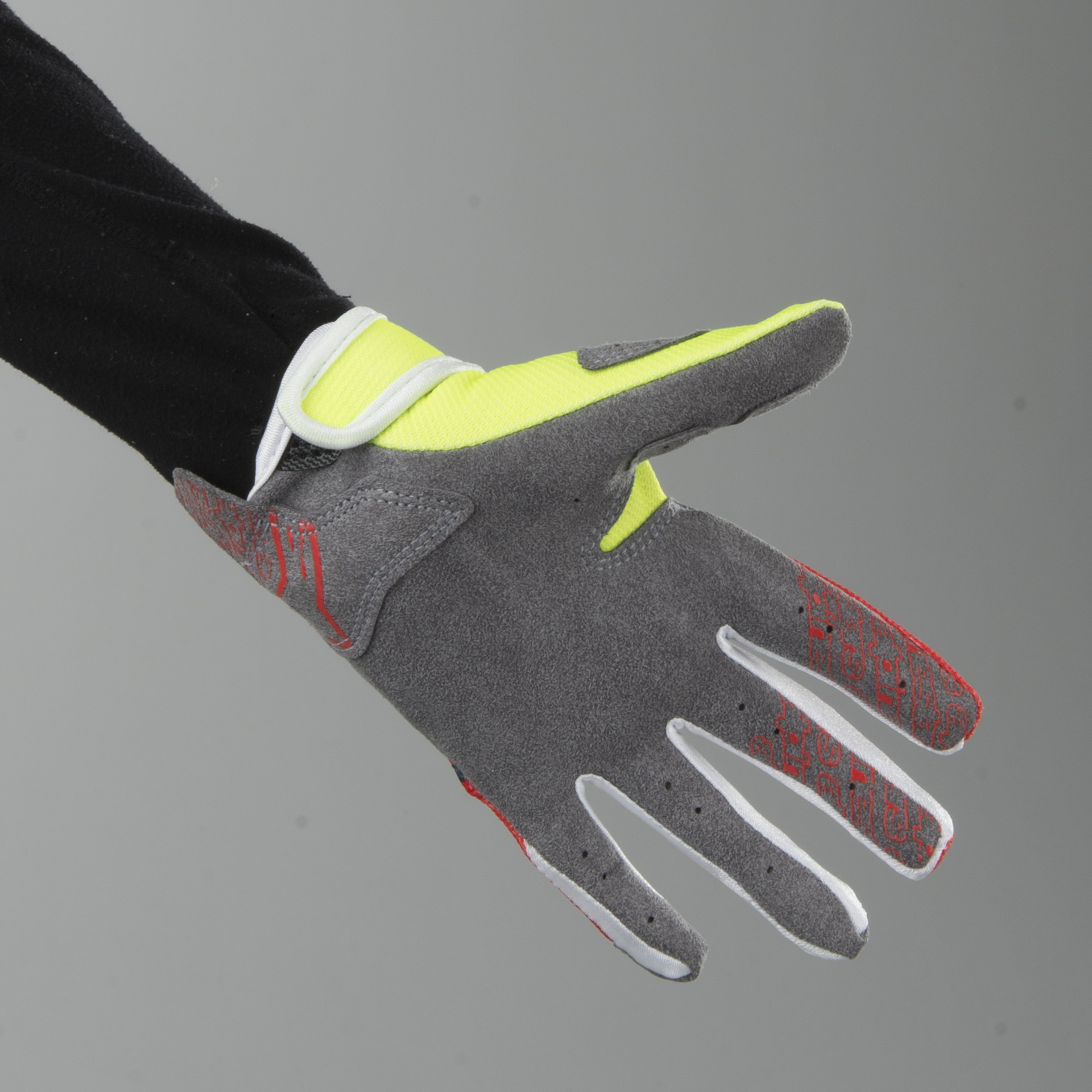 Anthracite//Fluo Yellow Alpinestars Radar MX Youth Glove
