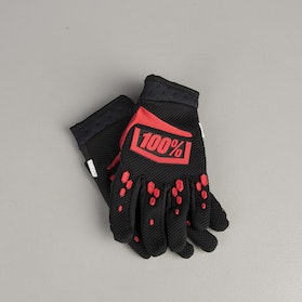 100% Youth Airmatic Gloves Black-Red