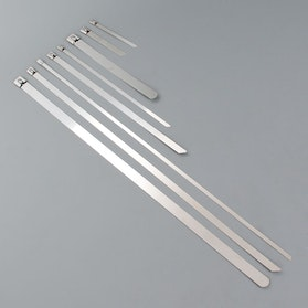 Cable Ties Stainless Steel 10-Pack