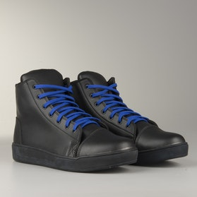 Course MX Sneakers  Black with Blue Laces