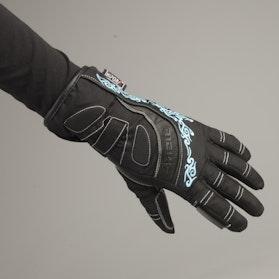 Rękawice Richa Elegance Damskie Czarno-Niebieskie