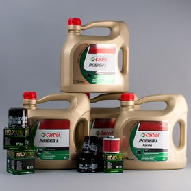 Castrol Power1 Racing Olie + Oliefilter