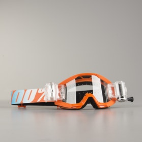 100% Strata Goggles JR Mud Orange