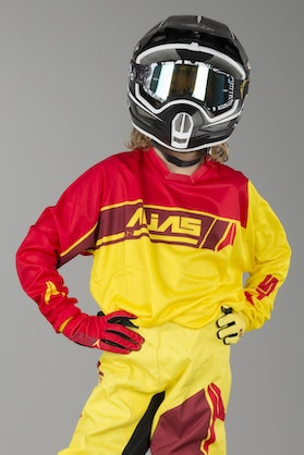 Alias Youth A2 Sidestacked Jersey Yellow-Red
