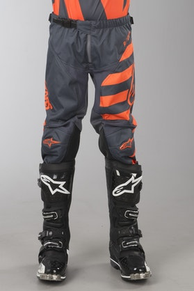 Alpinestars Racer Braap MX Pants Anthracite-Orange Fluo