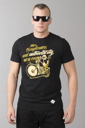 T-Shirt Ride&Sons Authenticity Czarny