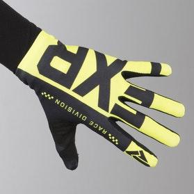 Rękawice Cross FXR Slip On Lite HiVis-Czarne