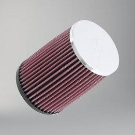 Filtr powietrza Okrągły Chromowany K&N Universal Offset