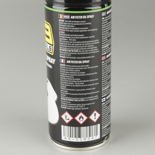 3-Pak A9 Kædespray + Luftfilterspray + Kæderens