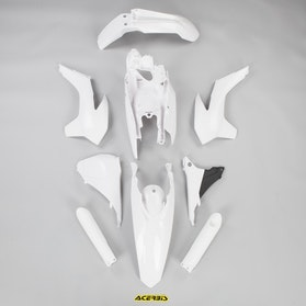 Komplet Plastikkit Acerbis KTM, Hvid