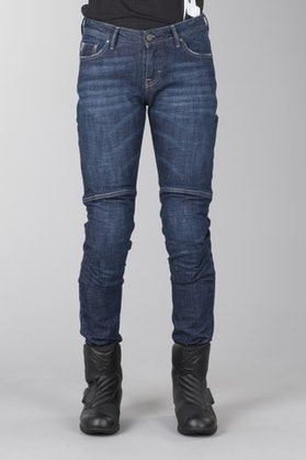 Jeans Alpinestars Daisy Damskie Ciemno-Niebieskie