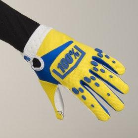 Rękawice Cross 100% Airmatic Żółte