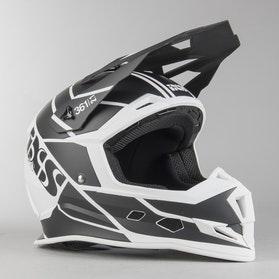Motokrosová Helma IXS 361 2.1 Matně Bílo-Černá