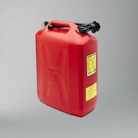 Never Stop AutoStop Petrol Can 20L Red