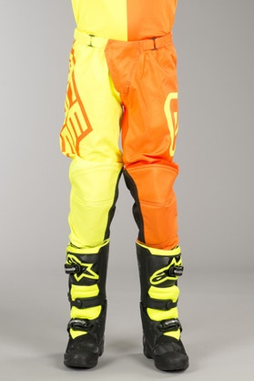 Acerbis Eclipse Youth MX Trousers Yellow Fluo-Orange