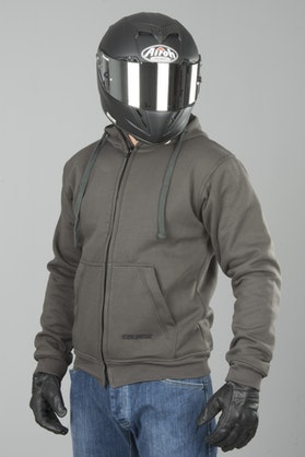 Course Full Aramid Reinforced MC Hoodie Grey