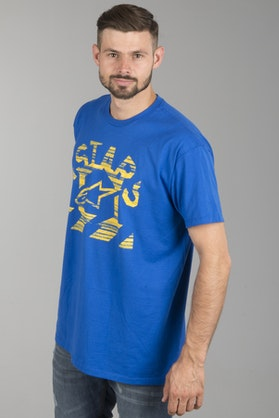 T-shirt Alpinestars Haze Royal Niebieski