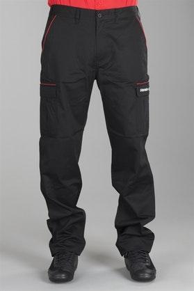 Mechanické Kalhoty Honda Racing Černá