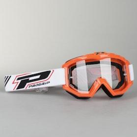 Crossové Brýle ProGrip 3201 Oranžová