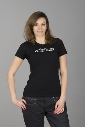 T-Shirt Damski Alpinestars Blaze Czarny