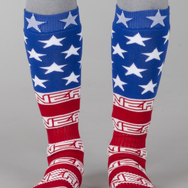 9cd8c6c1bf236d O'Neal USA Socks Red-White-Blue - Lowest Price Guarantee - XLmoto.ie