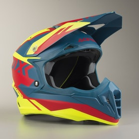 Acerbis Impact 3.0 Helmet Yellow-Red