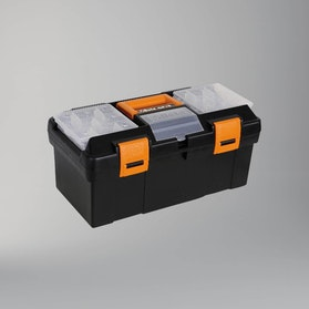 Beta Tools Plastic Tool Box with Movable Compartments