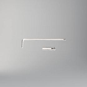 Klucz trzpieniowy kątowy z końcówką kulistą, długi, chromowany Beta Tools