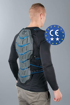 Revit Tryonic Feel 3.7 Back Protector Grey & Blue