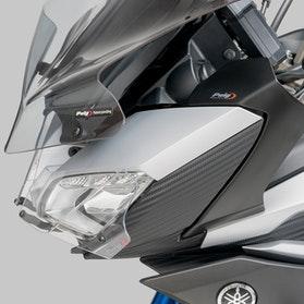 Deflektor Przedni Puig Yamaha Czarny Mat