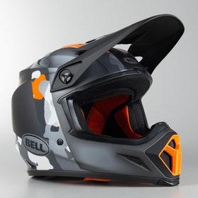 Bell MX-9 Mips Presence MX Helmet Orange-Camo