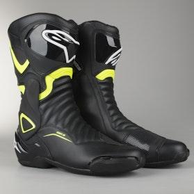 Alpinestars SMX-6 V2 Boots Black-Yellow