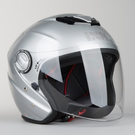 IXS HX 91 Helmet Silver