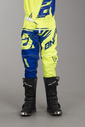 Answer Youth Syncron Pants Yellow-Blue