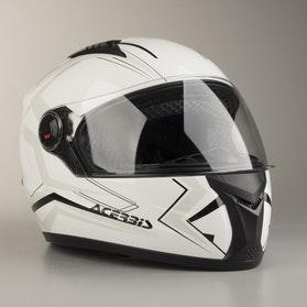 Acerbis Full-Face FS-807 Helmet White-Black