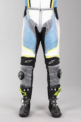 Regnbukser Alpinestars Racing, Klar/Sort