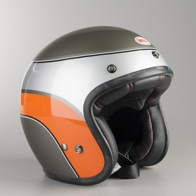 Hjelm Bell Custom 500 Airtrix, Grå/Orange