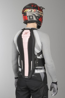 Zandona Hybrid Pro x8 Back Protection Pink