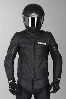 IXS Shertan Leather Jacket Black