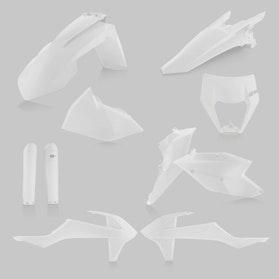 Acerbis Complete Plastic Kit White
