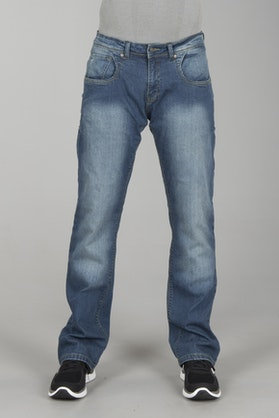 Booster Tec Motorcycle Jeans Light Wash