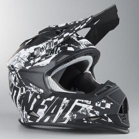 Motokrosová Helma Dětský Model O'Neal 2-Series Rider Černá-Bílá