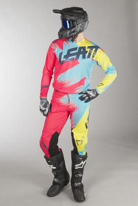 Leatt GPX 4.5 Lite MX Clothes Red-Lime
