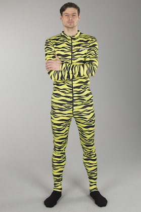 Jethwear Full Suit Base Layer Lime Tiger