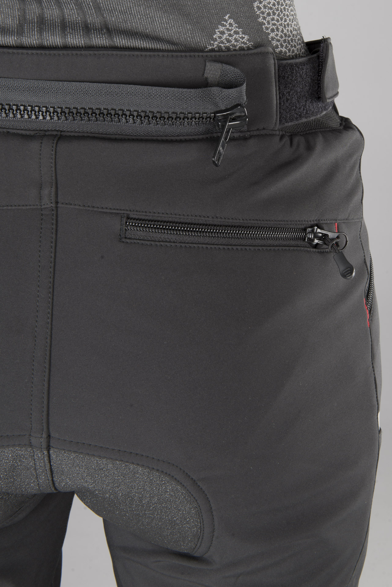Spodnie Richa Softshell Damskie Czarne